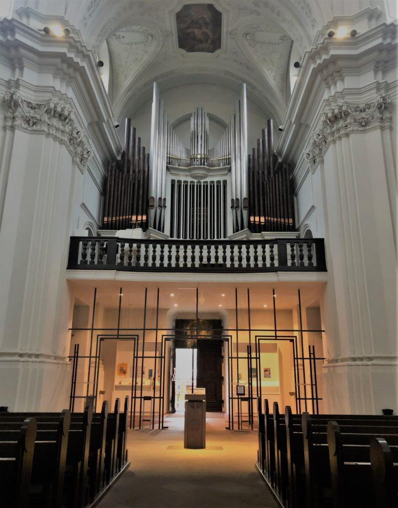 Orgel in der Neumünster Kirche