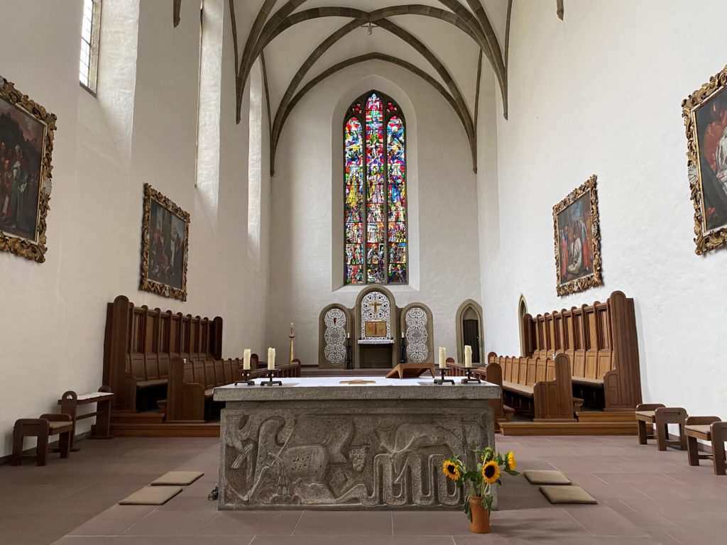Franziskaner Kirche Altar