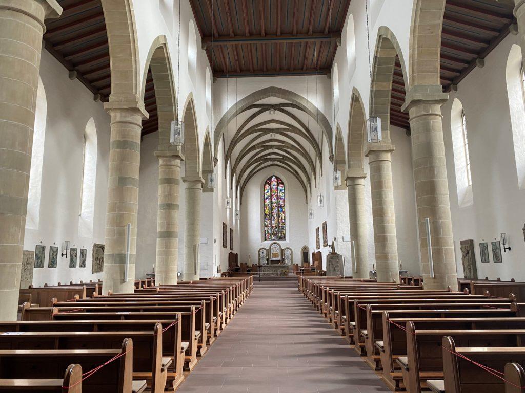 Franziskaner Kirche innen