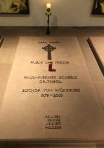 Grab von Bischof Scheele