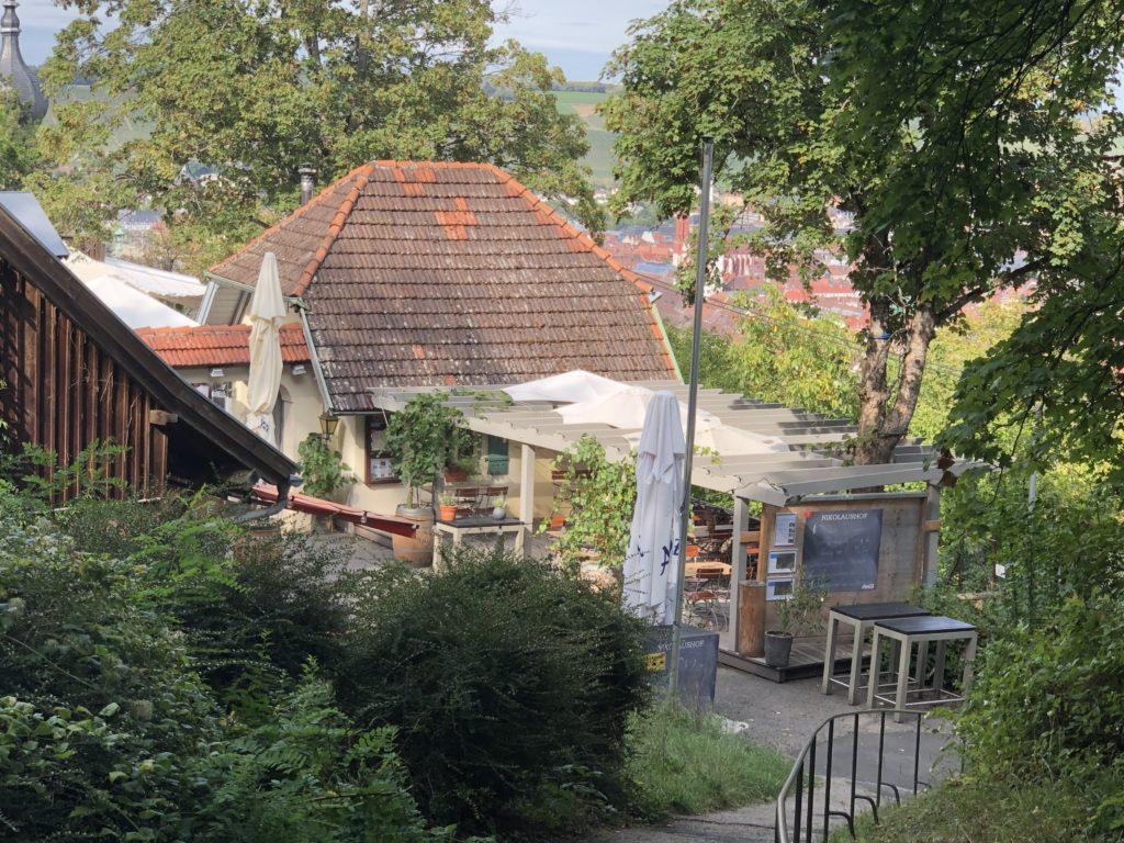 Treppe zum Nikolaushof