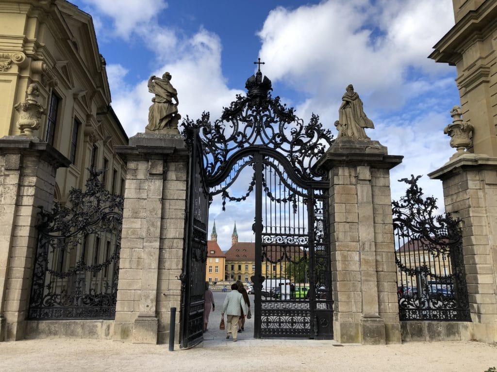 Eingangstore zum Hofgarten