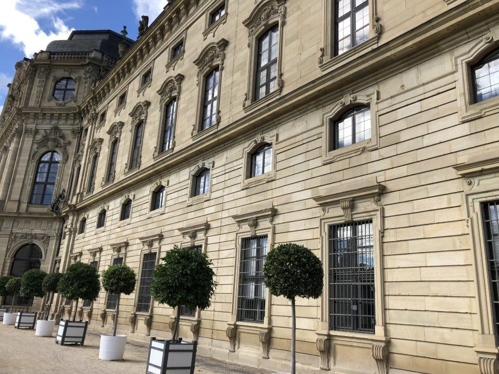 Außenfassade der Residenz Würzburg