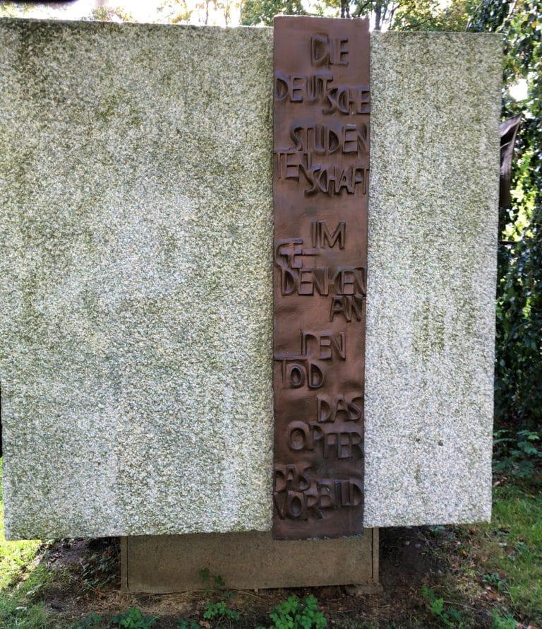 Studentenstein Denkmal im Ringpark