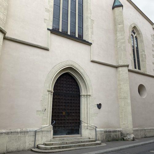 Eingangstor Franziskanerkirche