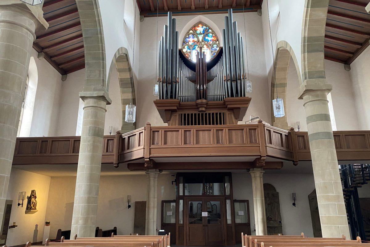 Franziskaner Kirche Orgel