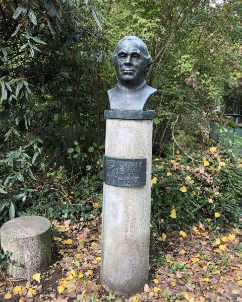 Büste Sebastian Kneipp in Würzburg